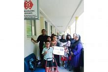 Persatuan Hira agih habuan kepada 60 keluarga penagih