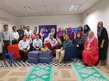 Kakitangan Maybank, BH iftar bersama