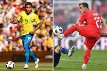 Neymar dan Brazil kembali 'bersamba'