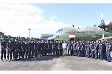 Pasukan Home Team bantu bencana di Laos selamat pulang