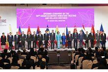 MESYUARAT MENTERI EKONOMI ASEAN PM Lee: Asean perlu perkukuh kerjasama, sepadu ekonomi serantau