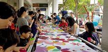 Rekod lukisan batik terpanjang dihasilkan