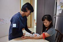 Klinik tawar pemeriksaan kesihatan bergerak bagi pembantu rumah