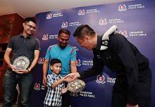 Dua individu diberi penghargaan polis bantu kes gangguan awam