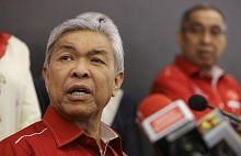 Zahid terus berdepan tekanan lepaskan jawatan Presiden Umno