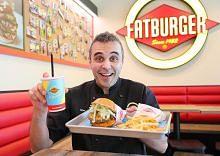 Burger 'gemuk' tapi menyihatkan kerana guna bahan segar