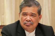 Malaysian minister Mat Sabu says his son, nabbed in a drug raid, must face the law