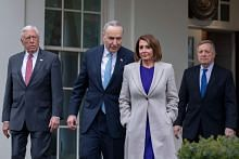 No breakthrough in US government shutdown talks, new meeting planned