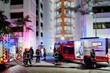 Fire breaks out in Jurong West flat, 90 residents evacuated from block