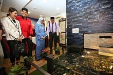 President Halimah Yacob officially launched Ain Society's second cancer centre at Haig Road