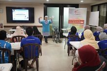 the Rahmatan lil Alamin (Blessings-to-All) Foundation (RLAF) and Masjid Yusof Ishak (MYI) have embarked on an elderly engagement project called 'Project Touch'