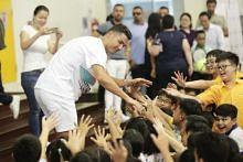 Cristiano Ronaldo shows heart for the heartland