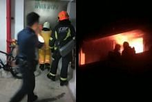 6 injured, 100 evacuated as fire engulfs Boon Lay HDB flat