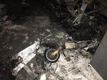 Couple rescued from HDB fire caused by charging e-scooters