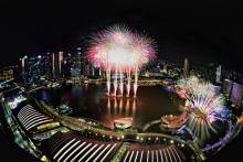 Musical, circus among countdown festivities at Marina Bay