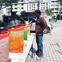 Masjid Mukminin sedia pelbagai air minuman bagi jemaah selepas solat Jumaat
