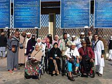 Sumbangan orang ramai penuhi impian 10 warga kurang upaya ke Tanah Suci