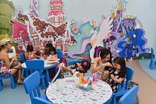 Temasya permainan di karnival Sentosa