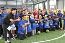 Selebriti, pemain veteran warnai acara 'Walking Football' di OTH