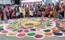 Rangoli gah warnai sambutan PONGAL