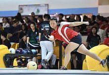 Pemain bowling MGS juara tapi kecewa kerana Sekolah Sukan S'pura johan keseluruhan