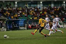 Taktik serangan Tampines jaya sekat Hanoi FC