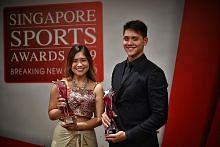 Schooling, Veloso rangkul anugerah Olahragawan, Olahragawati Negara