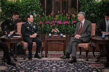 Dialog Shangri-La: PM sambut menteri China
