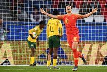 Skuad wanita China tutup laluan Afrika Selatan