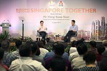 Bersama ganding bahu untuk maju, pacu ekonomi, bangun negara