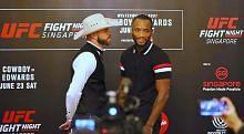 SENI BELA DIRI CAMPURAN (MMA) Peluang peminat MMA banjiri Hab Sukan tonton UFC Fight Night