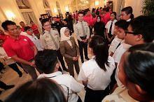Presiden Halimah rai penganjur, peserta NDP