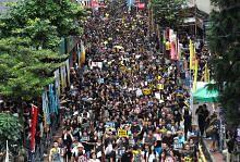 PERGOLAKAN POLITIK DI HONGKONG Bantahan aman diteruskan