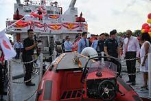 Tiga kapal pemadam api baru SCDF mula beroperasi tahun depan