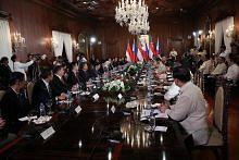 Presiden Halimah: Masih ada ruang terus pertingkat aliran dagang, pelaburan