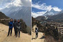 Lawan sejuk untuk tiba di Pangkalan Khemah Everest