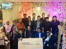 Sumbangan $40,000 diraih bantu Riz Sunawan MALAM AMAL - KAMI PEDULI RIZ