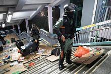 Bantahan di HK kendur tanpa topeng
