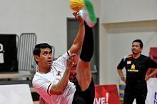 Pasukan sepak takraw S'pura azam raih kejayaan di Sukan SEA