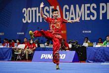 Wushu, floorball wanita raih emas pertama S'pura