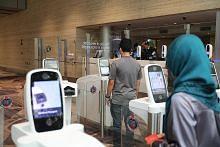 Percubaan guna iris mata bagi pemeriksaan imigresen di Changi