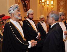 Masagos beri penghormatan kepada Allahyarham Sultan Oman