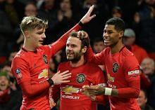 PIALA FA ENGLAND Man Utd melangkah ke pusingan ke-4
