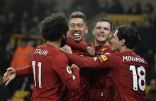 Liverpool perkukuh kedudukan tangga pertama liga