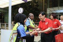 DPM Heng hargai pekerja yang bertugas pada CNY
