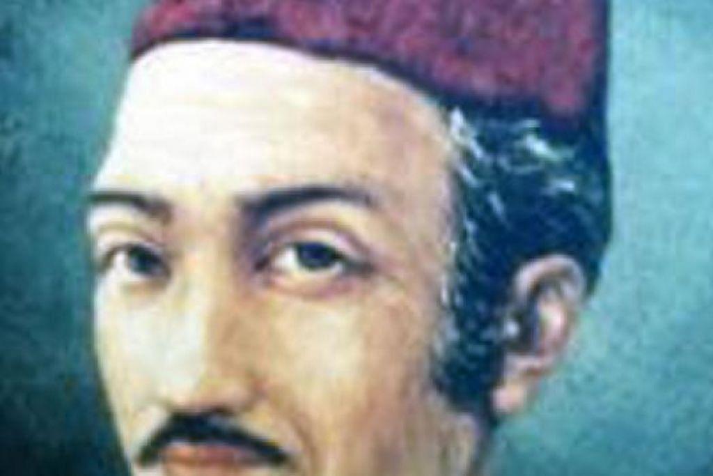 Penulis autobiografi 'Hikayat Abdullah' ini juga dikenali sebagai Munsyi Abdullah. Buku hasil tangannya ini antara historiografi Melayu yang penting dalam membuat kajian mengenai orang Melayu. – Foto fail