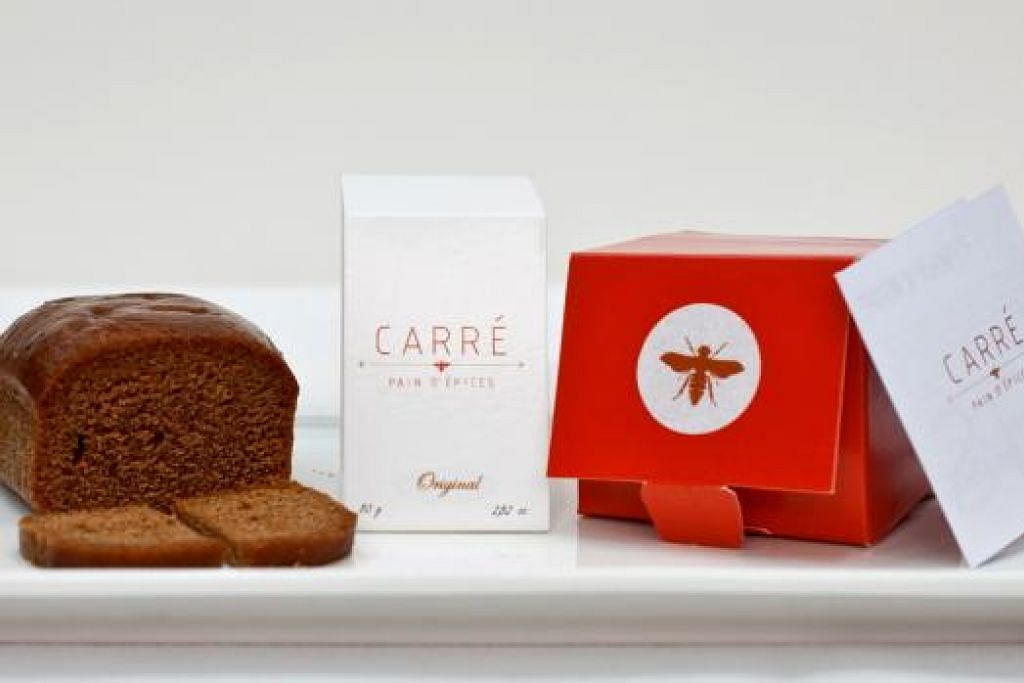 SEDAP: Dengan menggunakan bahan-bahan bermutu, rupa dan tekstur roti Carre Pain D'Epices ini serupa kek. – Foto ALBERT MENES