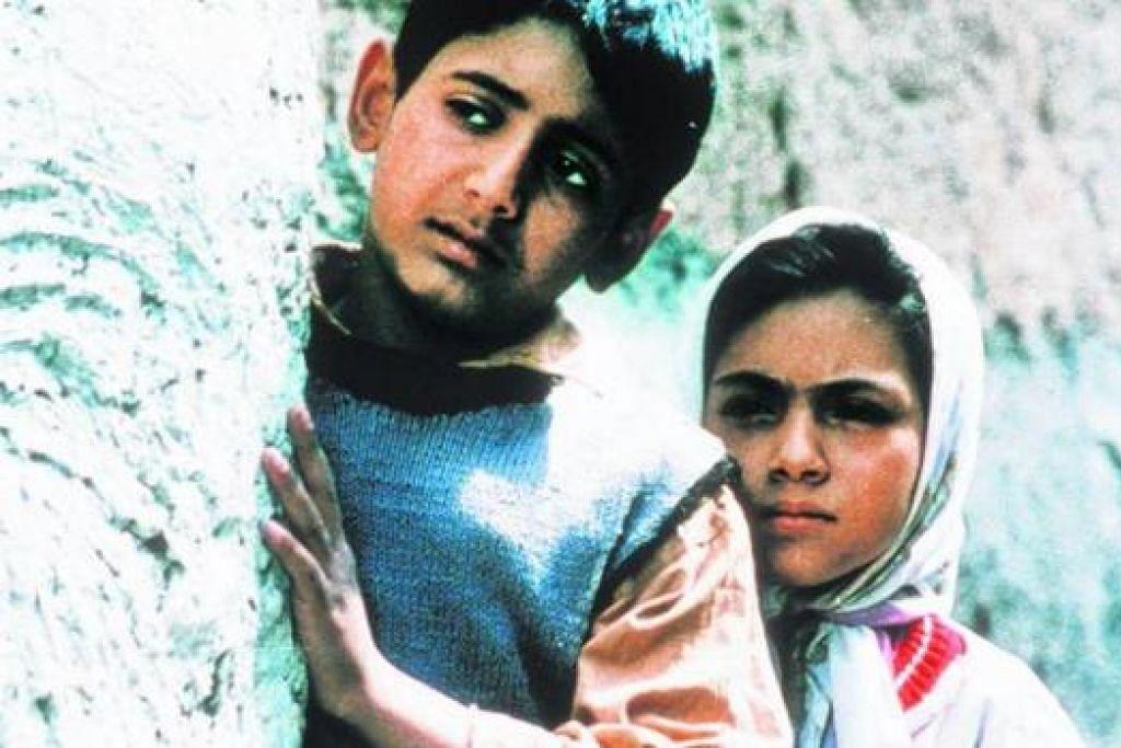 FILEM IRAN: Filem Children of Heaven mempunyai nilai sejagat diterima di peringkat global. - Foto SHAW