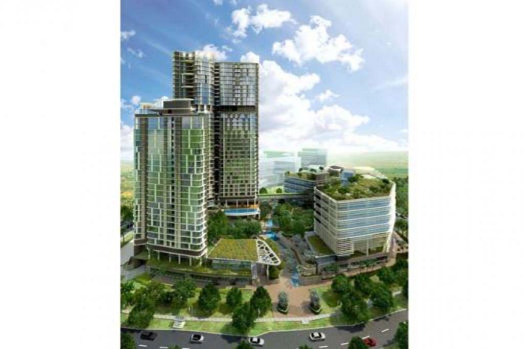 TERSERGAM INDAH: Afiniti-Medini adalah antara kondominium yang sedang dibangunkan. – Foto ISKANDAR-MALAYSIA