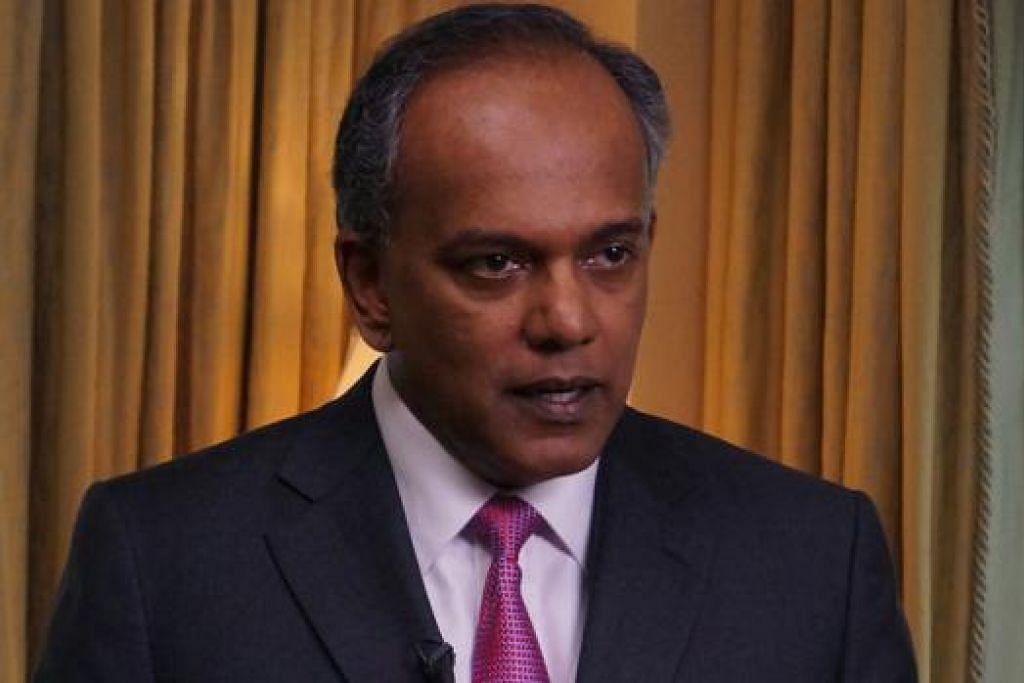 """""""Hubungan kami dengan Pihak Berkuasa Kebangsaan Palestin (PNA) adalah baik dan ia kekal demikian.""""  - Menteri Ehwal Luar, Encik K. Shanmugam"""